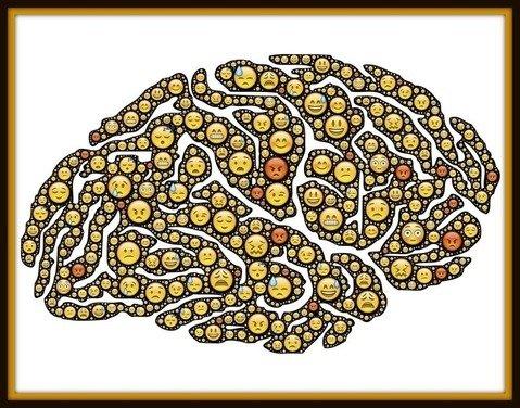 emoticonos cerebro