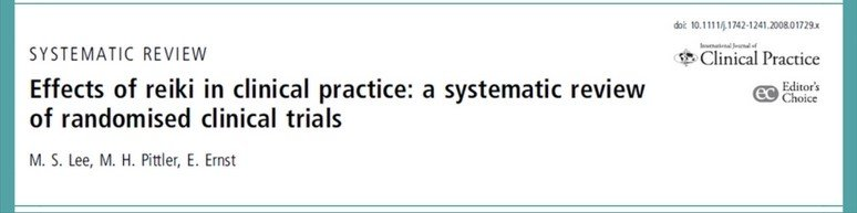 Randomised Clinical Trials about Reiki, reviewed by Lee