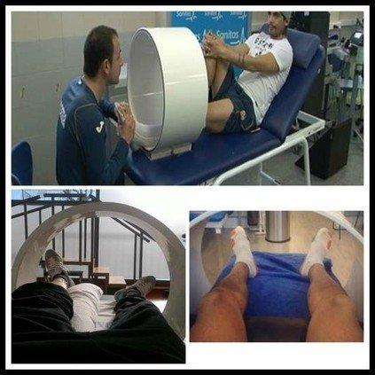 Magneto terapia en futbolistas de élite