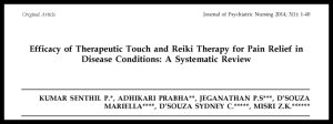 Reiki Pain Review