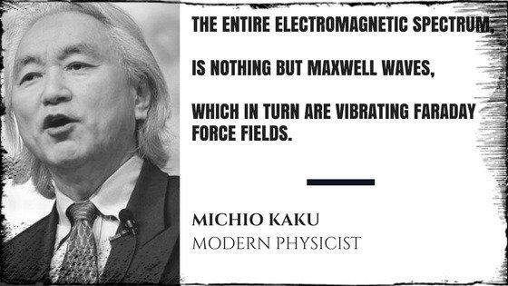Michio Kaku Electromagnetic Spectrum