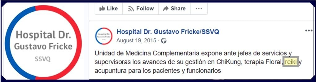 Fricke Hospital Facebook Post